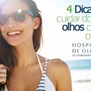 4 Dicas para cuidar dos seus olhos durante o verão